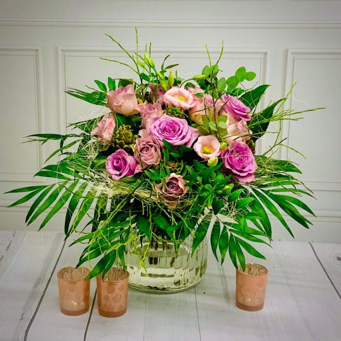 Blumenstrauß Queens Day in rosa flieder