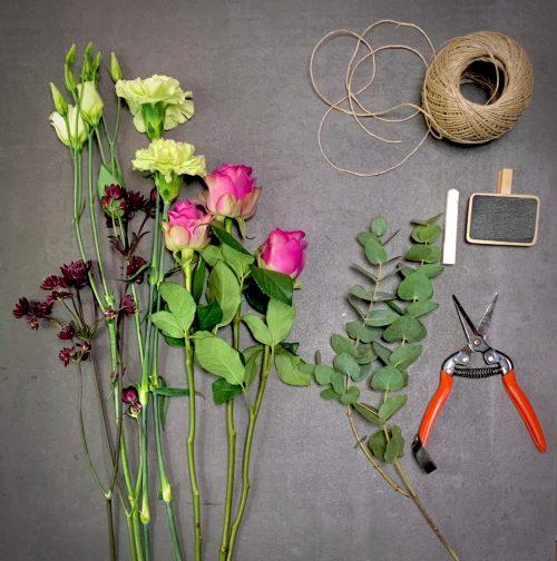 Blumen als Strauß binden lassen und online bestellen