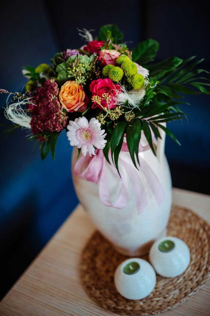 Blumenstrauß aus Hildes Garten