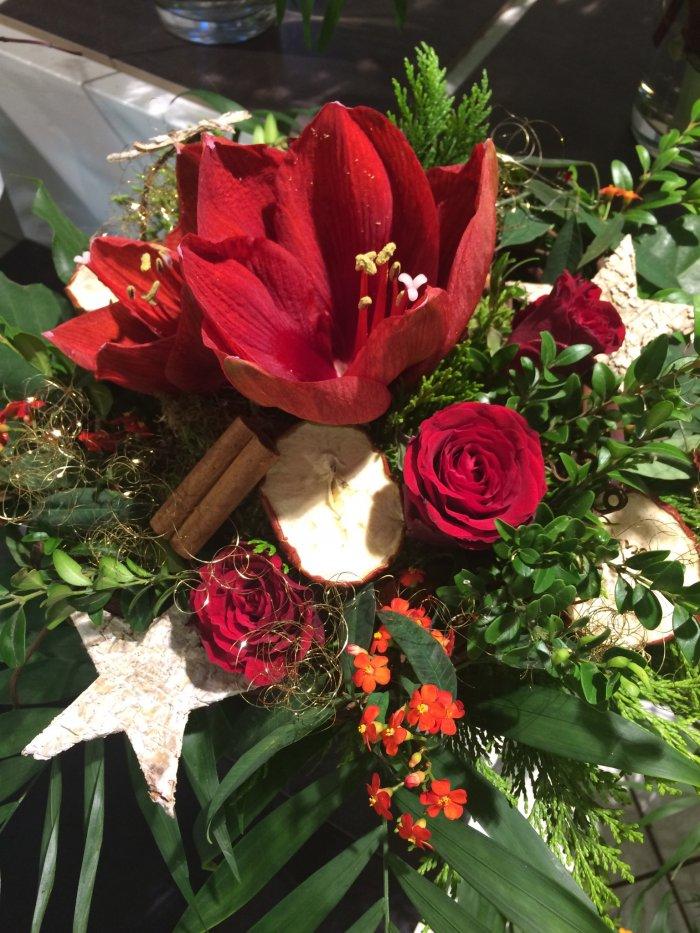 Strauß Amaryllis in rot