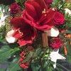 Amaryllisstrauß rot