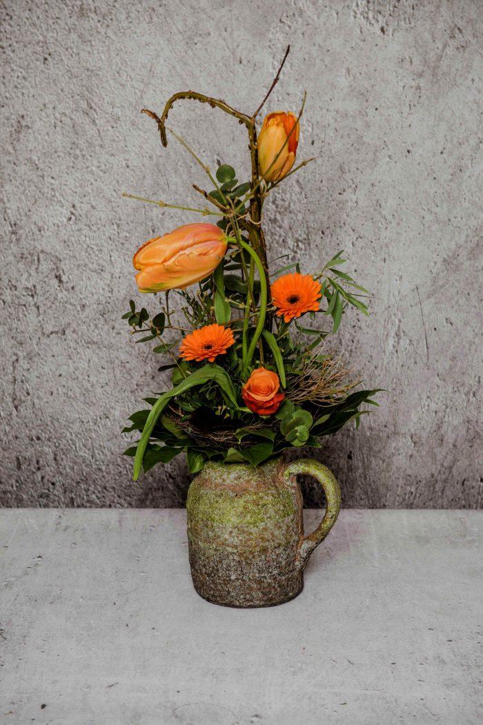 französische Tulpen als Strauß