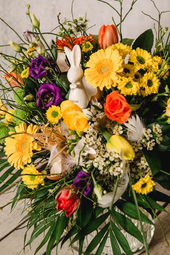 Blumen zum Osterfest