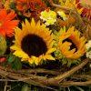 Strauss mit Sonnenblumen