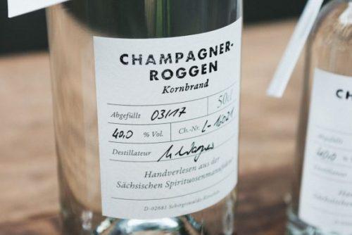 Champagner Roggen Brand