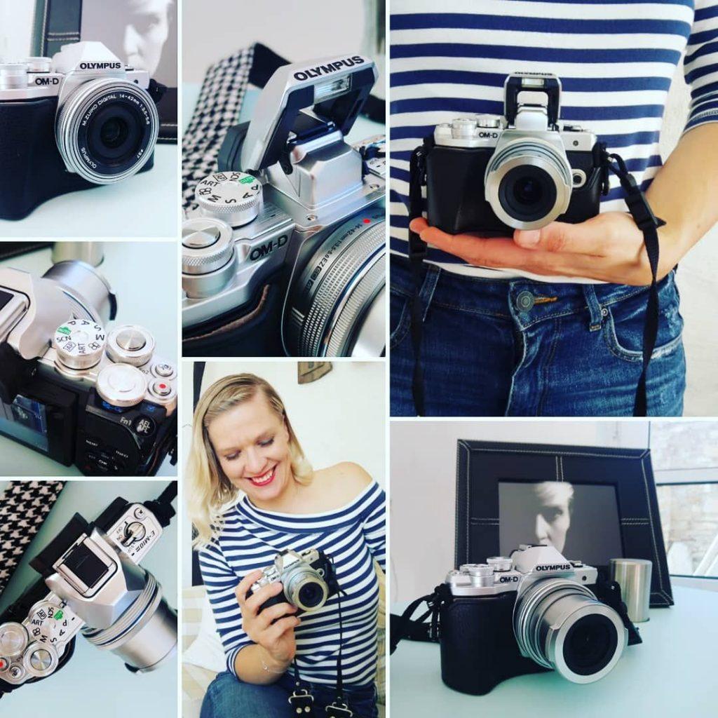 Steffi mit Kamera
