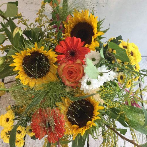 Strauß Sonnenblumen