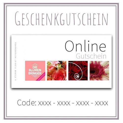 BlumenGutschein online