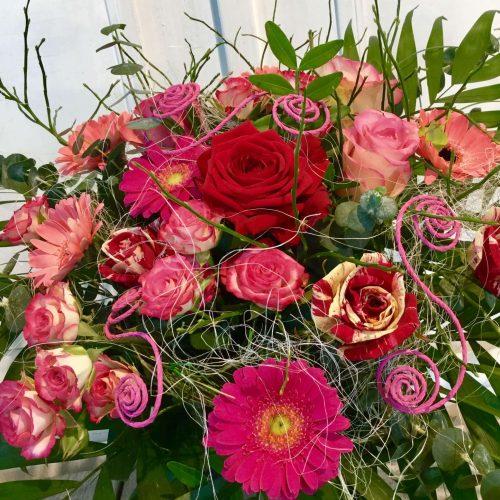 Rosa roter Strauß