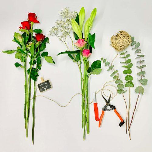 Blumen ABO zum Jahrestag