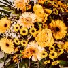 Blumenstrauß gelb orange